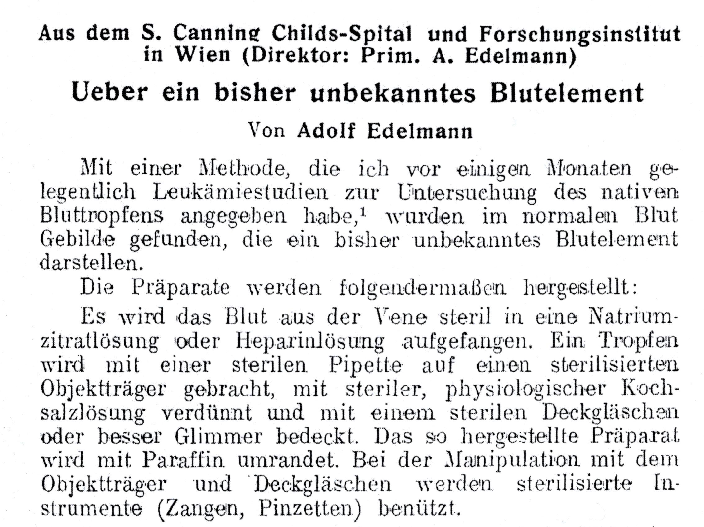 Wiener Klinische Wochenschrift 1931