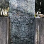 Grabstätte Dr. Alfred Lustigs, Jüdischer Friedhof in Meran © Joachim Innerhofer, Jüdisches Museum Meran