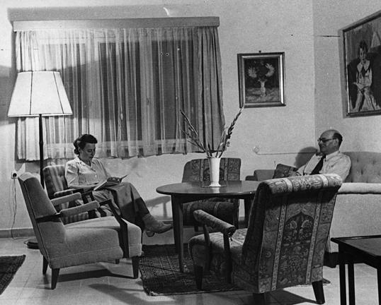 Ernst Lyon und Ehefrau Hilde 1949  in Jerusalem <br> © NS-Dokumentationszentrum N 468, 1, Stadt Köln