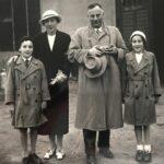 Dr. med. Franz Meyersohn mit seiner Ehefrau Magda und den Kindern Rolf und Charlotte um 1930 © Familie Meyersohn, USA