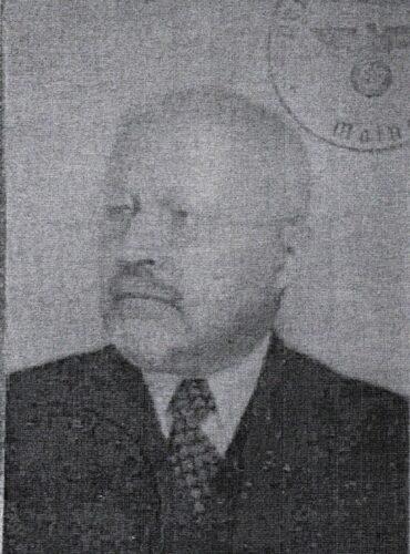 Dr. med. Johann Lewinski 1939 © Zentralarchiv zur Erforschung der Geschichte der Juden in Deutschland, Heidelberg