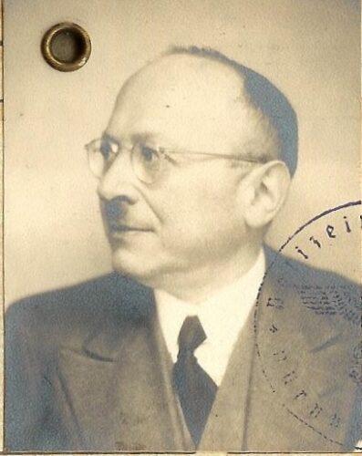 Dr. med. Fritz Löwenthal, 1939 © Dan Travers, USA