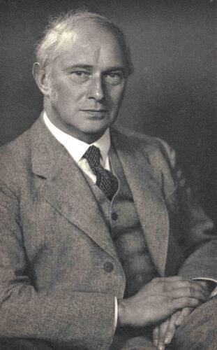 Prof. Dr. med. Eduard Franz Schott <br> © Fam. Peter Schott, USA