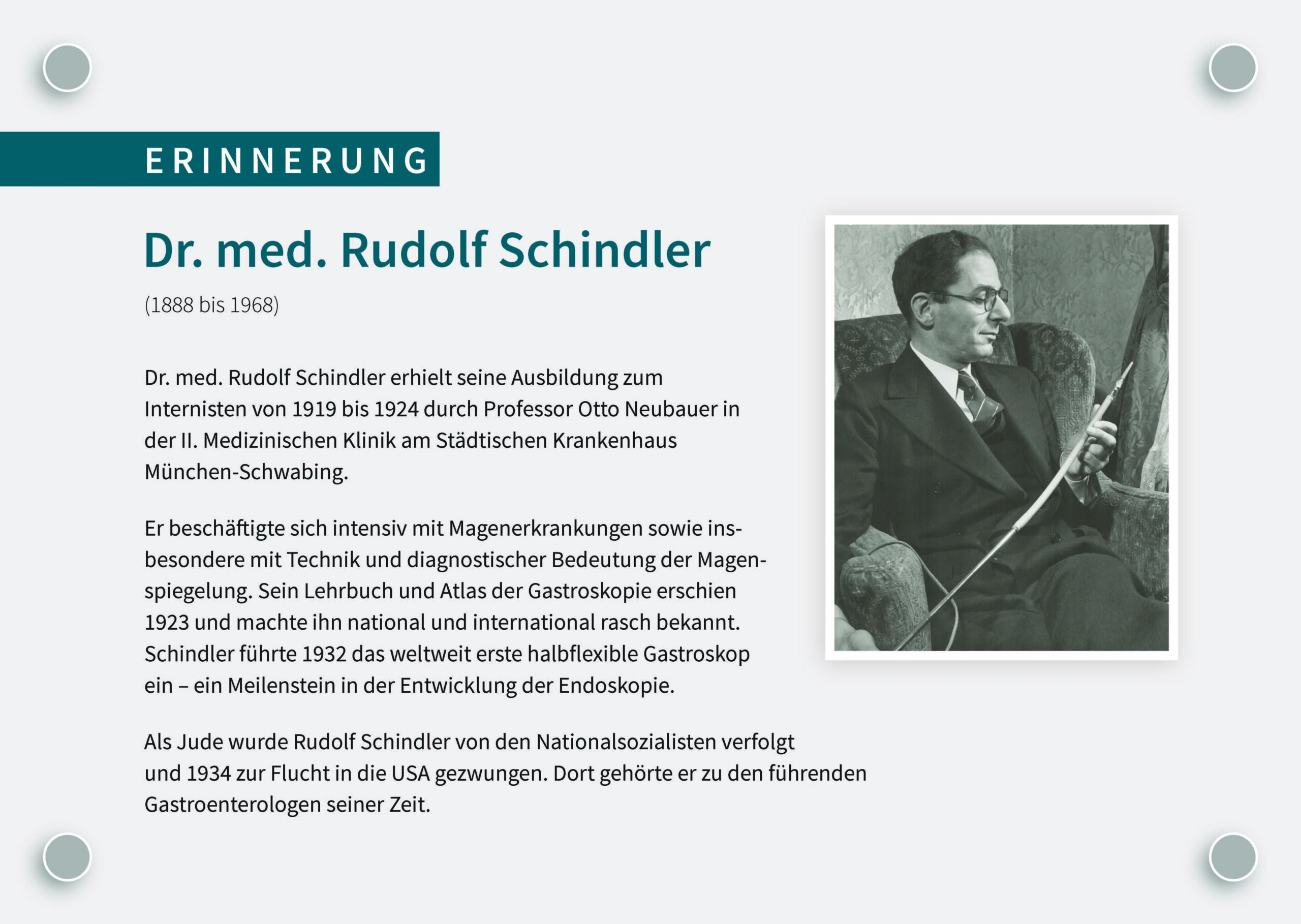 Gedenktafel, München Klinik Schwabing 2020