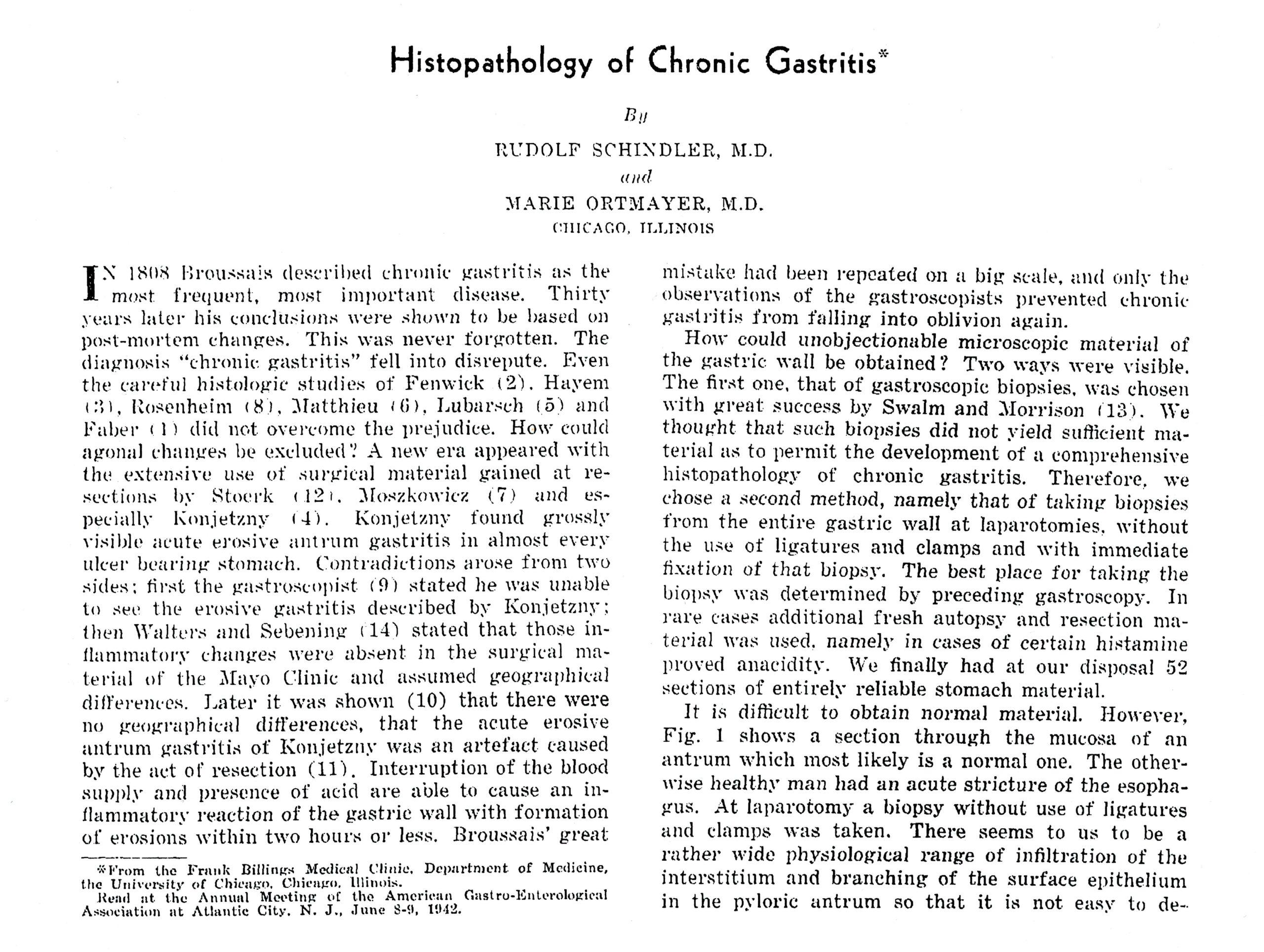 American Journal of Digestive Diseases 1942