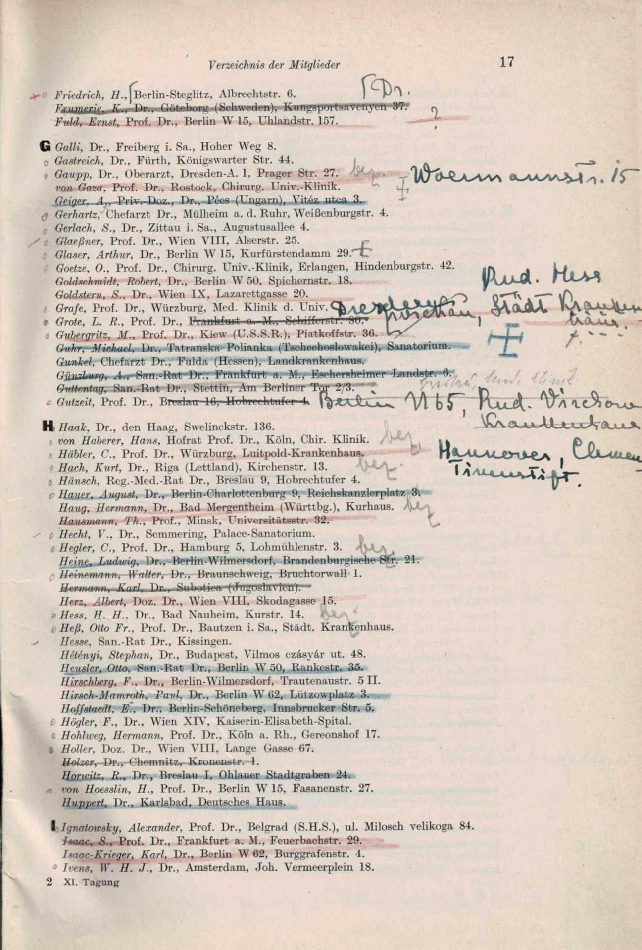 Mitgliederliste 1932 3 Von 8