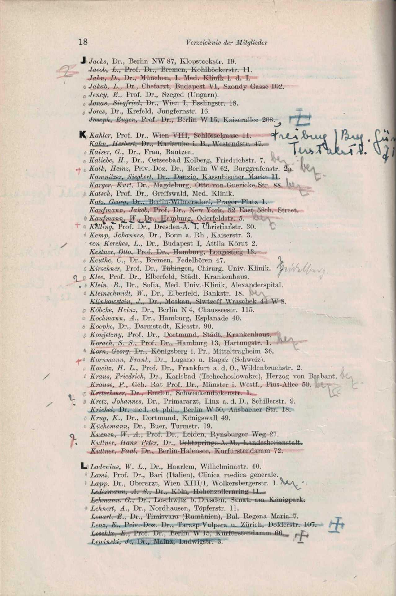 Mitgliederliste 1932 4 Von 8