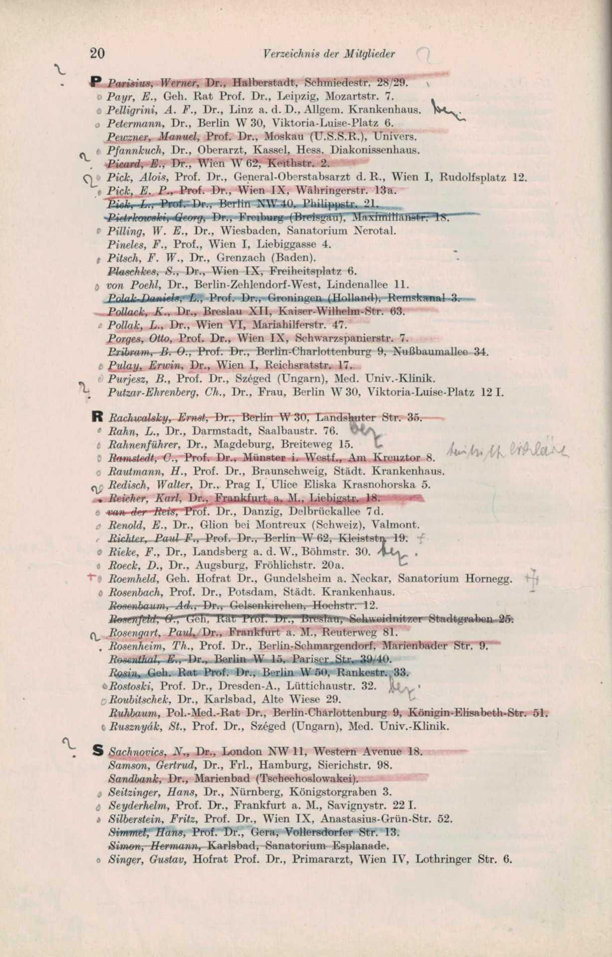 Mitgliederliste 1932 6 Von 8