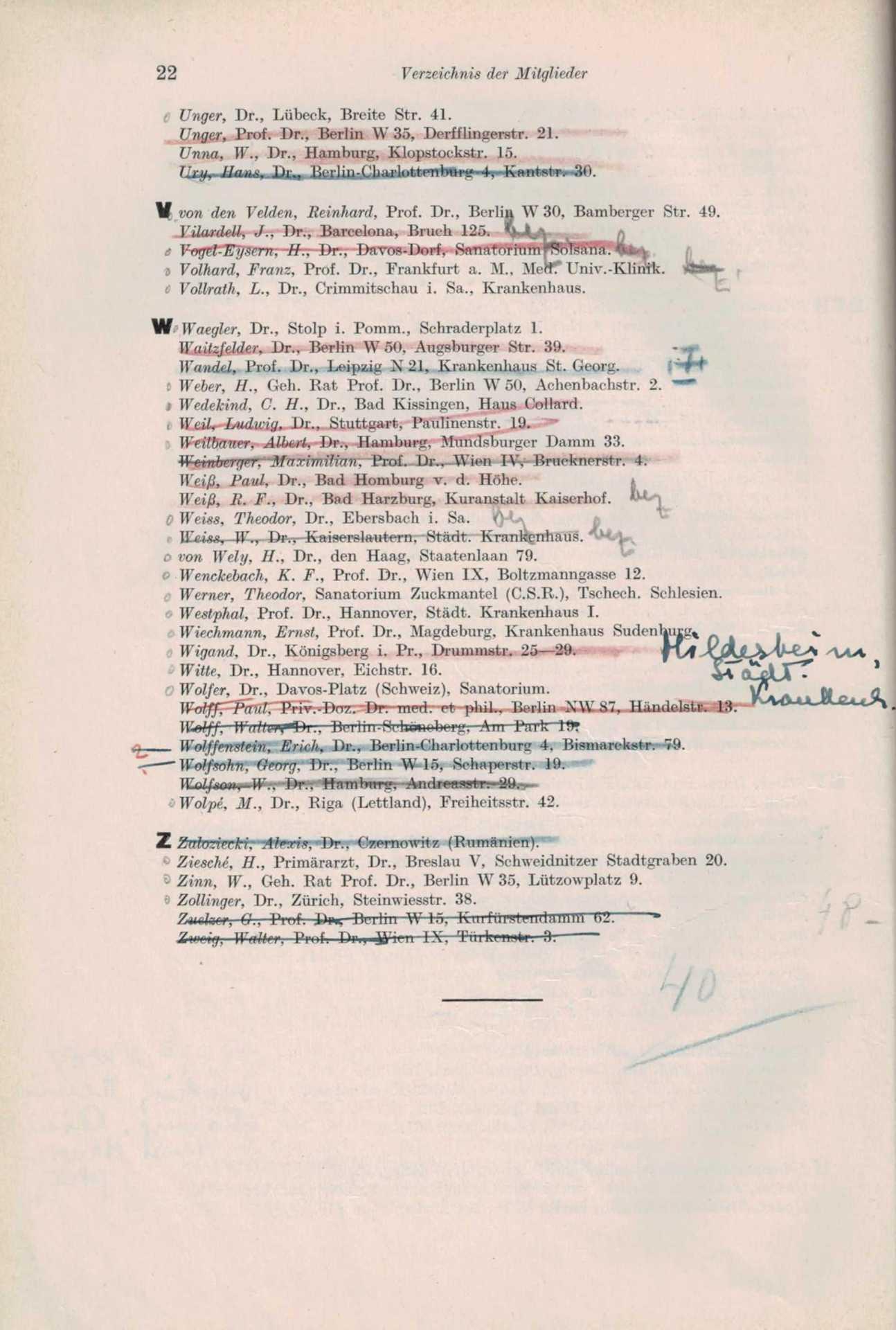 Mitgliederliste 1932 8 Von 8
