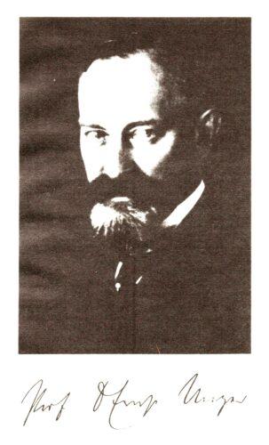 Prof. Dr. med. Ernst Unger <br> Bildquelle Enno A. Winkler, <br> Dissertation 1975